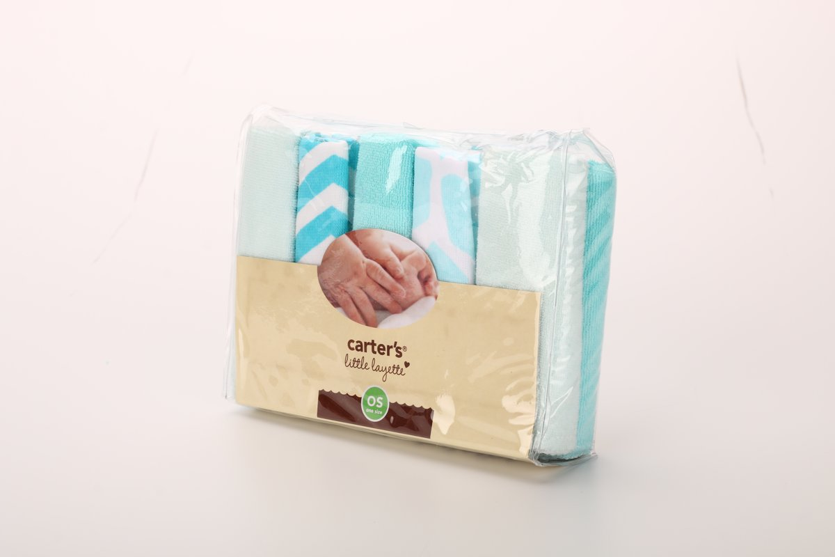 Wasbare katoenen doekjes - blauw kopen