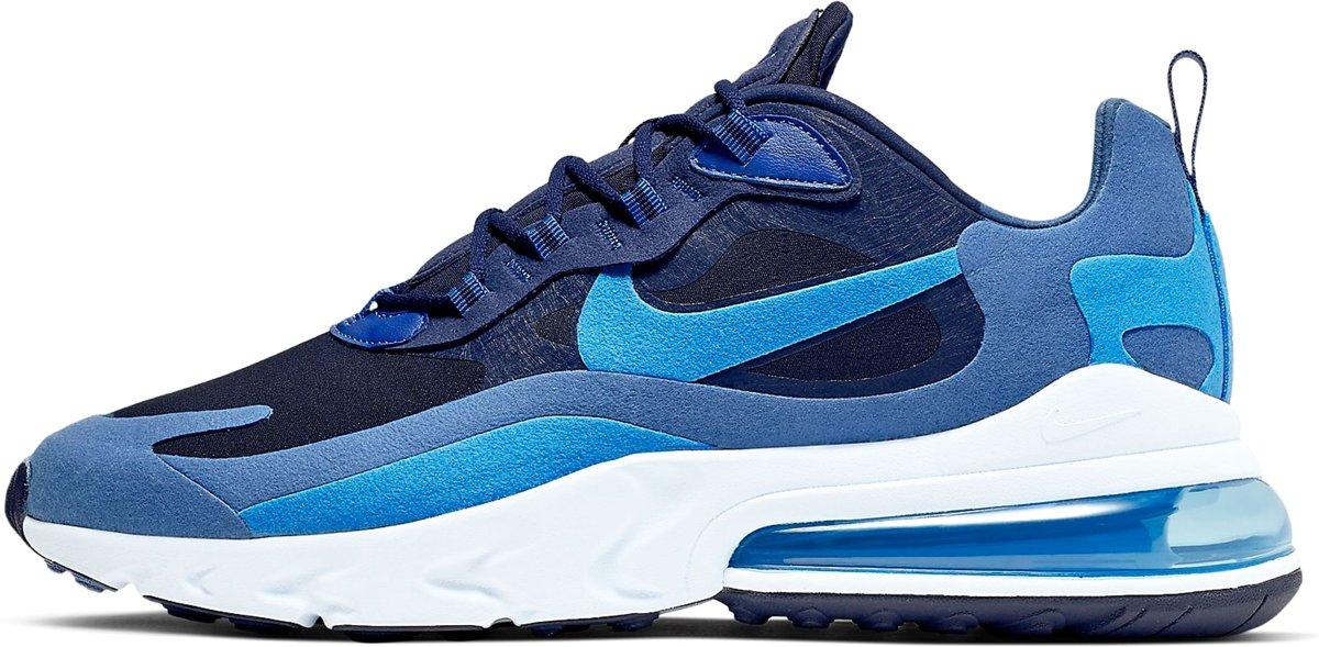 Nike Air Max 270 React Sneakers Maat 42 Mannen donker blauwblauwwit