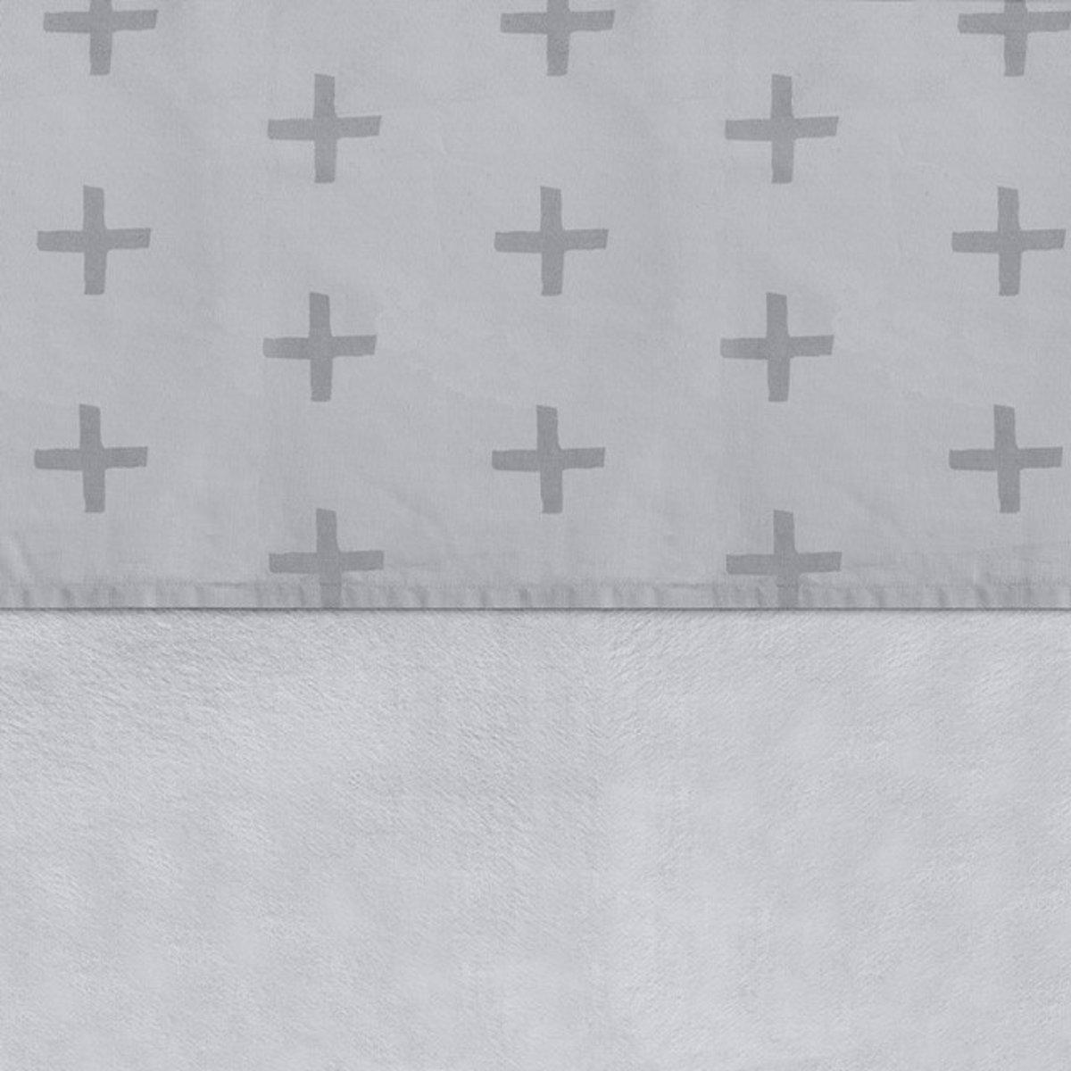 Jollein Plus -Laken- 120x150cm- grijs kopen