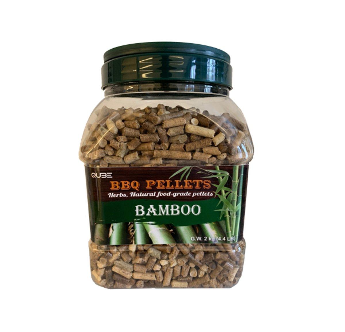 BBQ Pellets Bamboe 2kg kopen