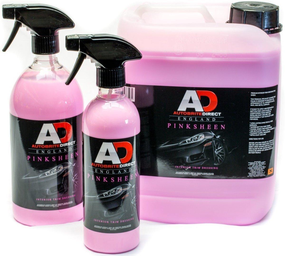 Foto van AutoBrite Pink Sheen kunstof dressing