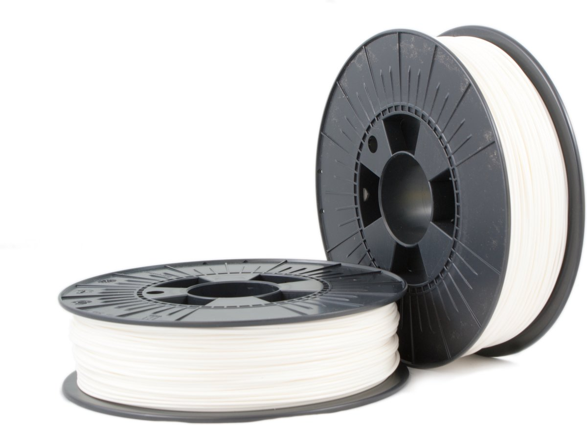 ABS 1,75mm  white ca RAL 9003 0,75kg - 3D Filament Supplies kopen