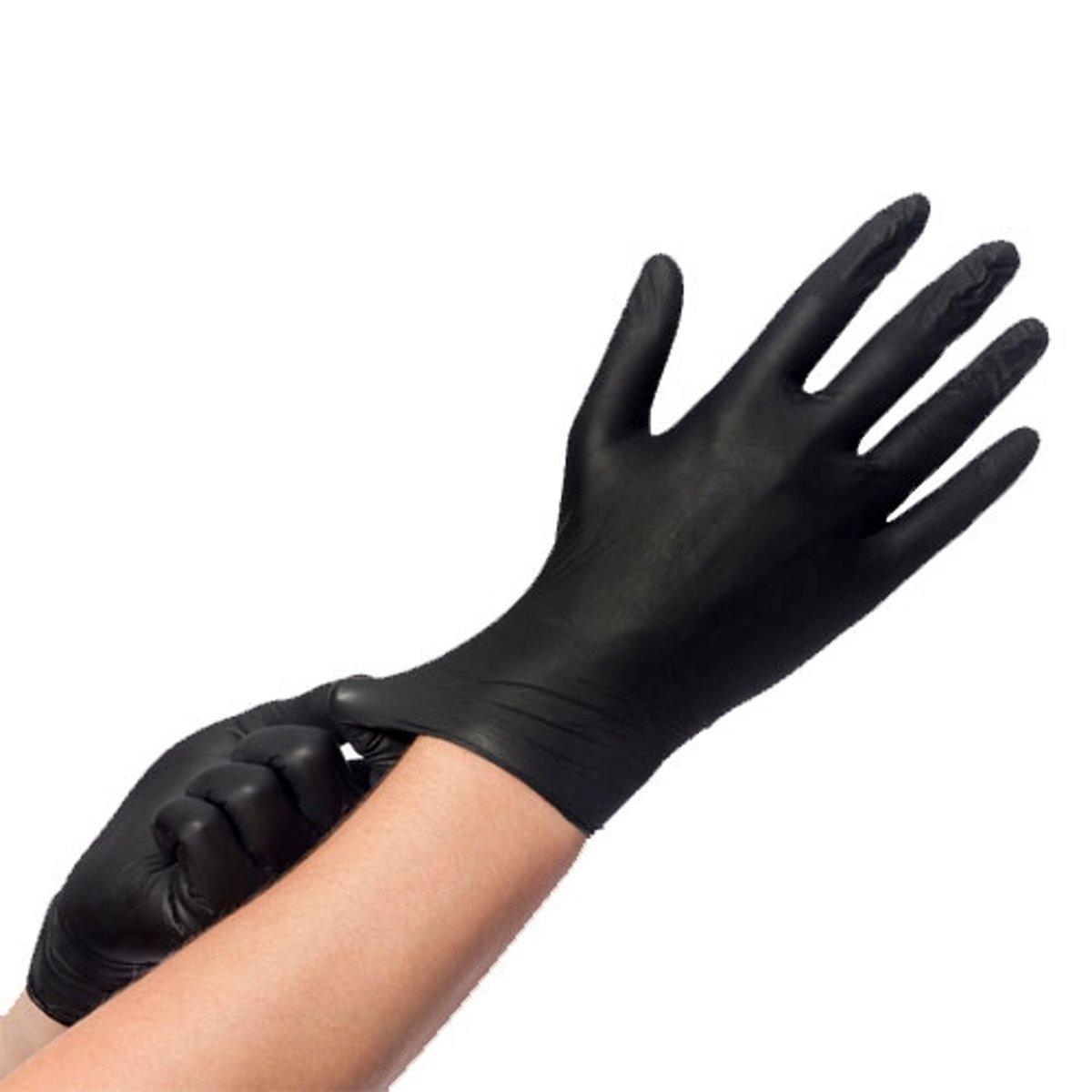 Veronica NAIL-PRODUCTS Nitriel handschoenen ZWART Easyglide & grip, maat M voor nagelstyliste. Nitriel handschoenen voor manicure en pedicure behandelingen! Hygiëne in uw nagelsalon! kopen