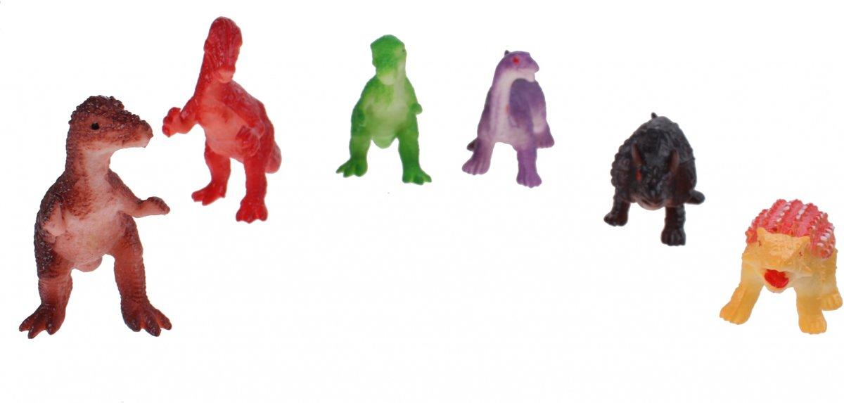 Free And Easy Dierenset 6 Cm Dinosaurussen kopen