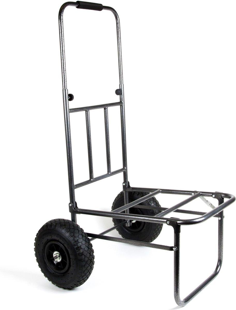 X2 Transportkar met Uitschuifbaar Handvat