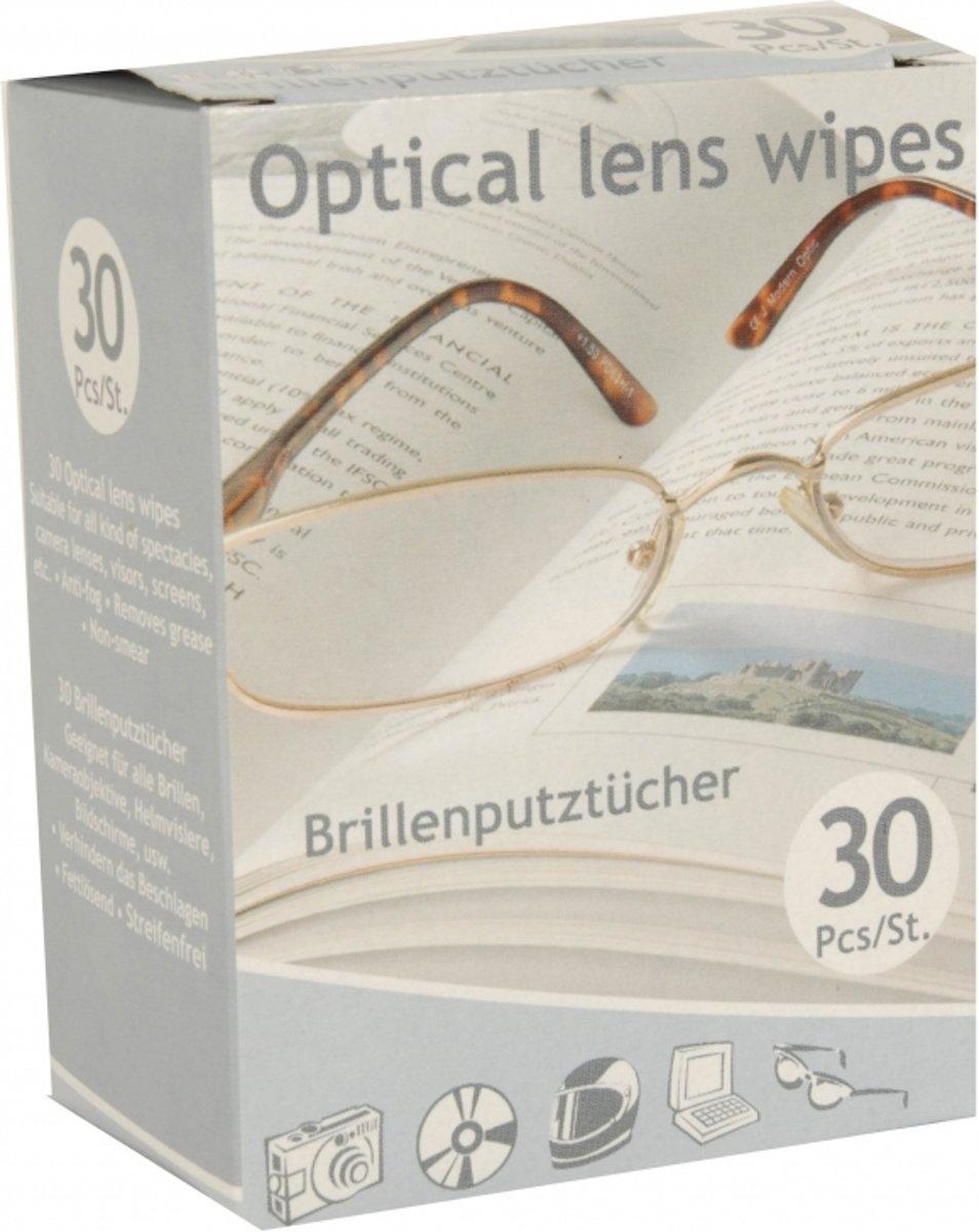 Brillen poetsdoekjes 30 stuks kopen