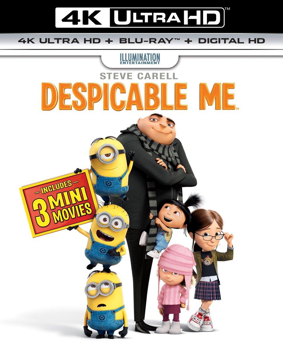 Verschrikkelijke Ikke (Despicable Me) (4K Ultra HD Blu-ray)-