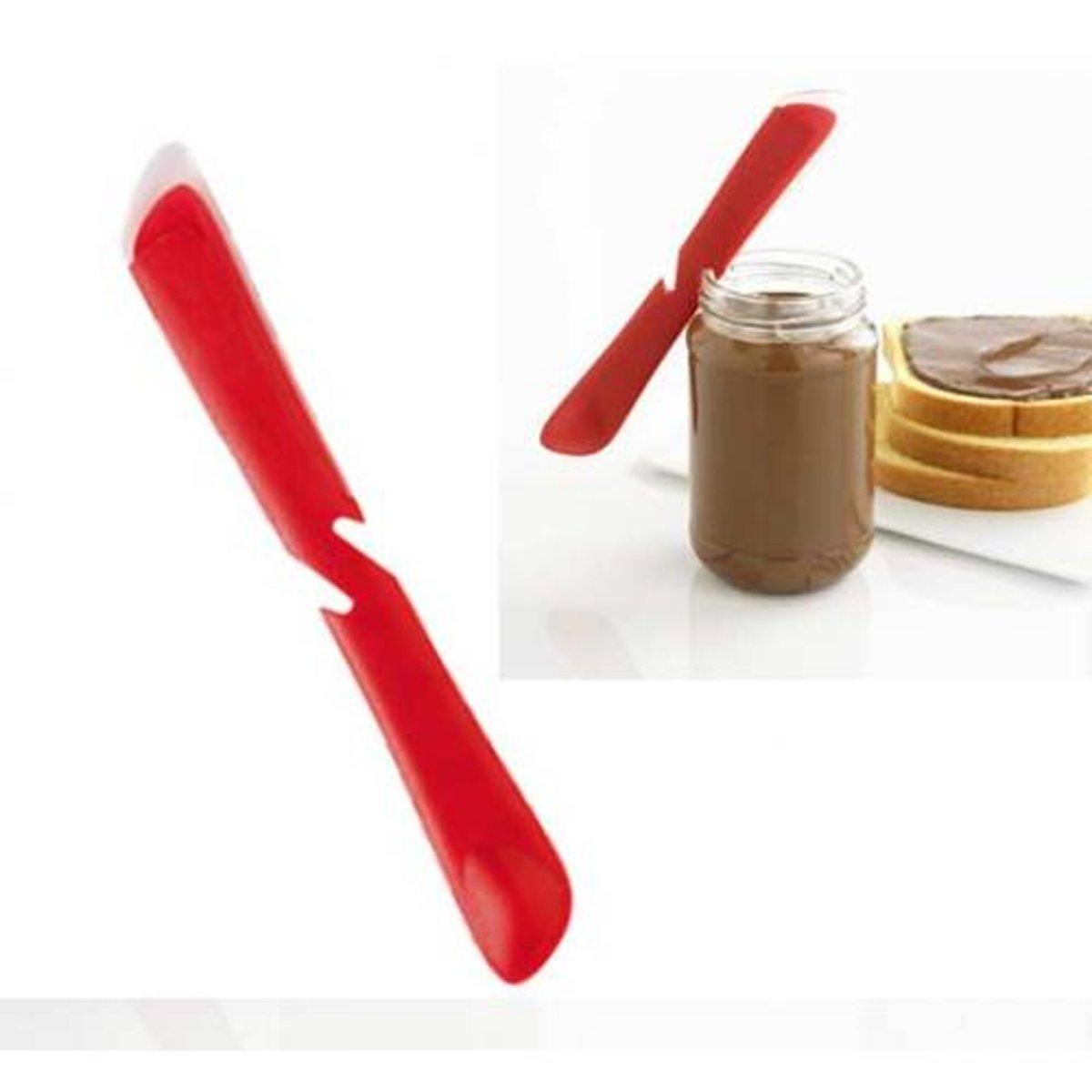 Smeer mes / lepel, rood - Mastrad kopen