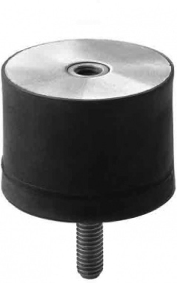 Cilindrische Trillingsdemper Type B 25 x 15 B m6x18/M6i RVS-316 kopen