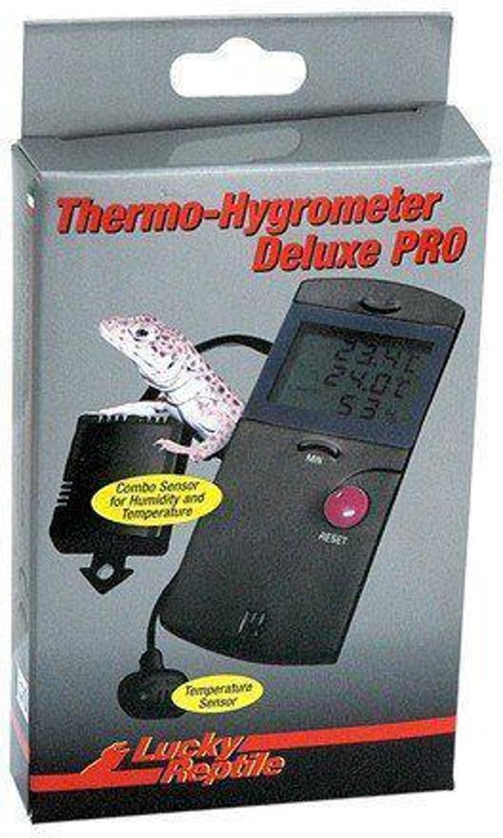 Lucky Reptile Thermometer-Hygrometer Deluxe PRO Digitaal