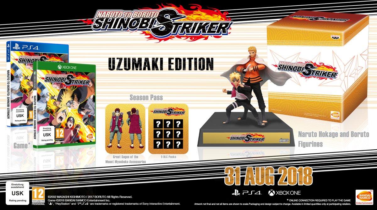 Naruto to Boruto: Shinobi Striker - Collector's Edition PlayStation 4