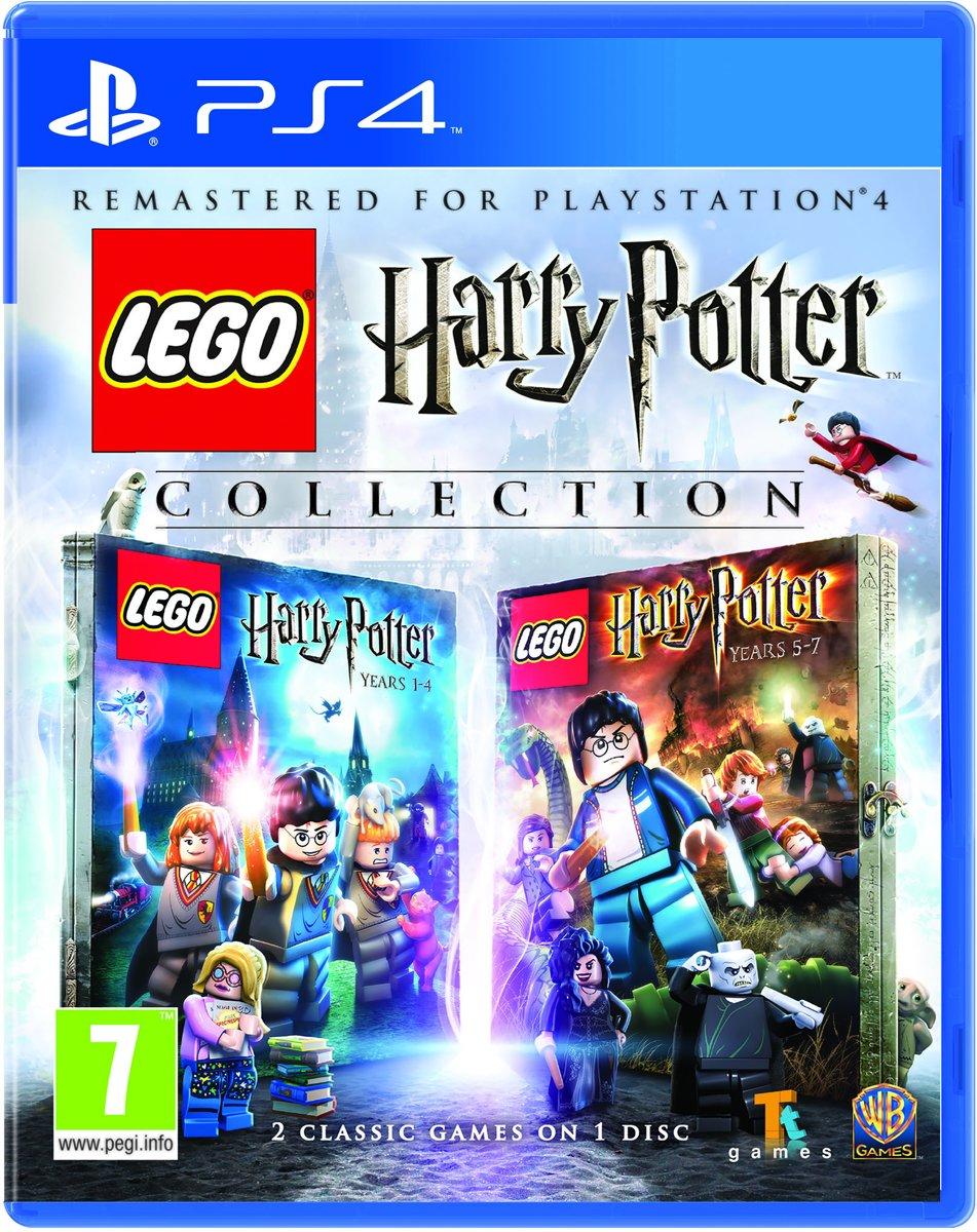 LEGO Harry Potter 1-7 Collection PlayStation 4