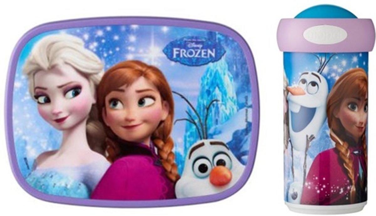 Lunchset Disney Frozen -  Lunchbox en Schoolbeker Mepal kopen