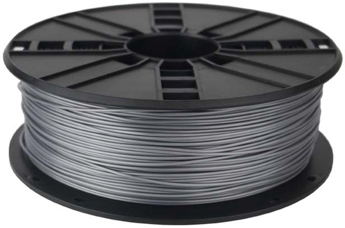 Gembird3 3DP-PLA1.75-02-GL - Filament (600 g) PLA, 1.75 mm, titanium metallic kopen
