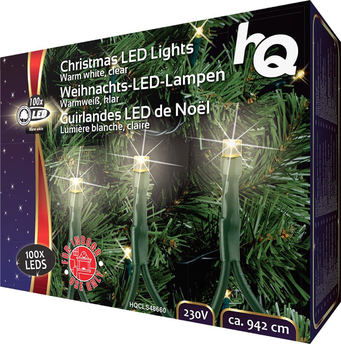 Kerstverlichting 100 LED 2.1 W 9420 mm Warm Wit Binnen kopen