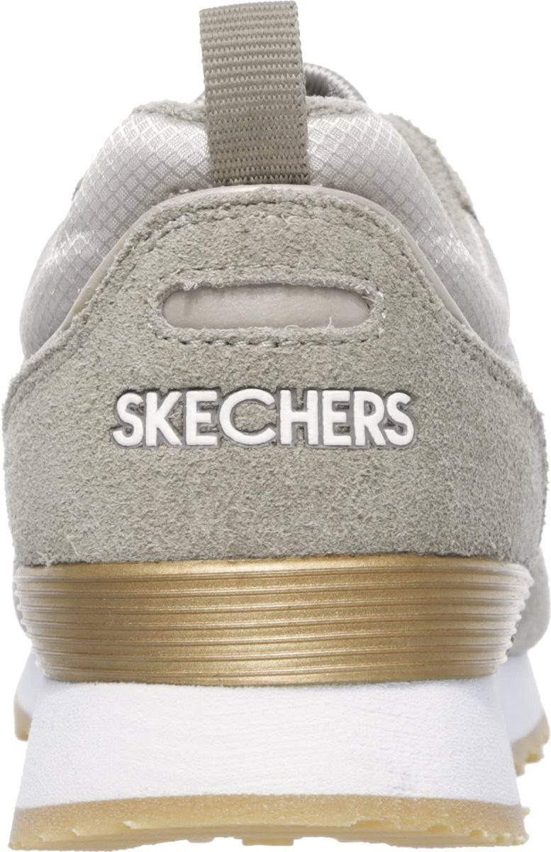 78b1c7557cd bol.com | Skechers Goldn Gurl taupe sneakers dames - maat 41