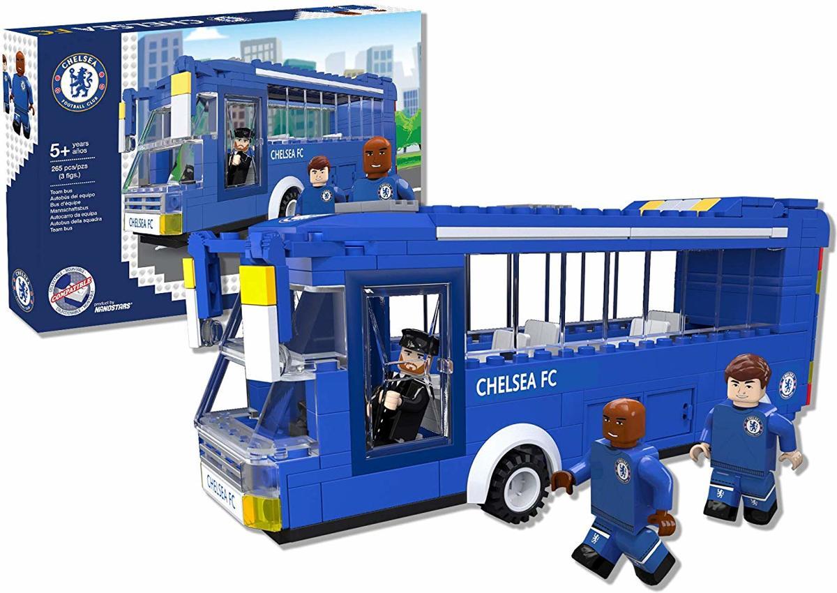 Chelsea Spelersbus met 3 figuren - NanoStars
