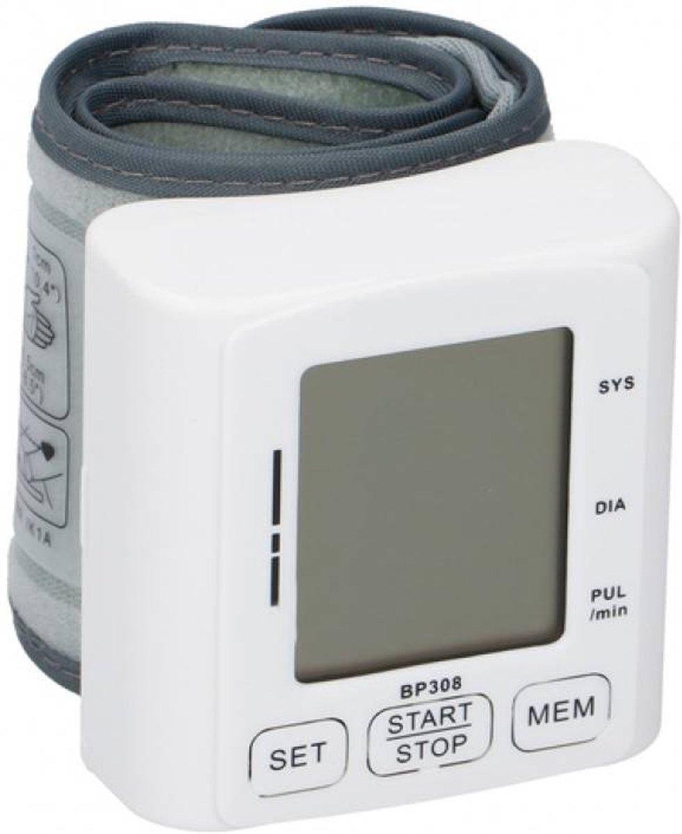 Grundig Digitale Bloeddrukmeter Arm / Pols Met LCD Scherm