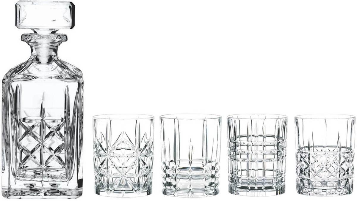 Nachtmann Highland Whiskyset, 5-delig kopen