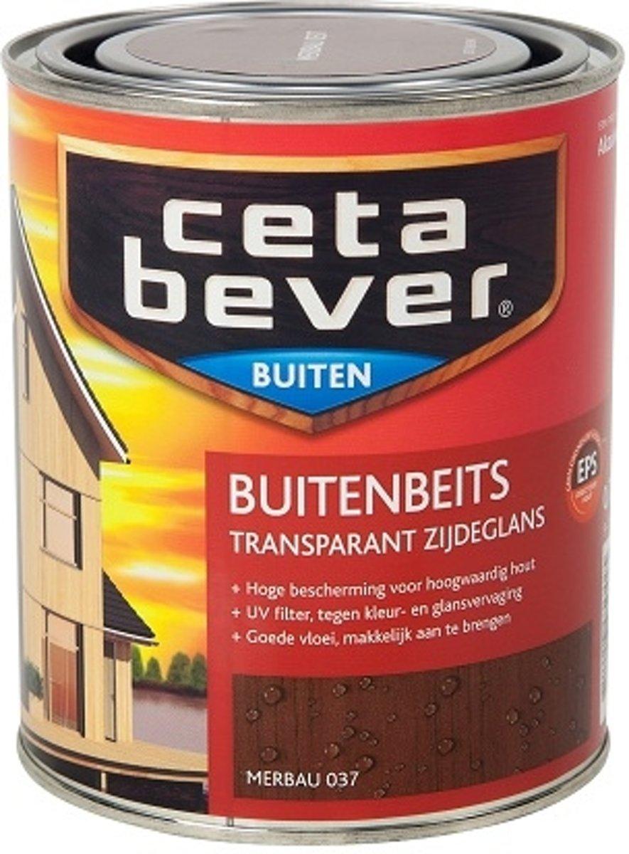 Cetabever Transparante Buitenbeits - 0,75 liter - Merbau
