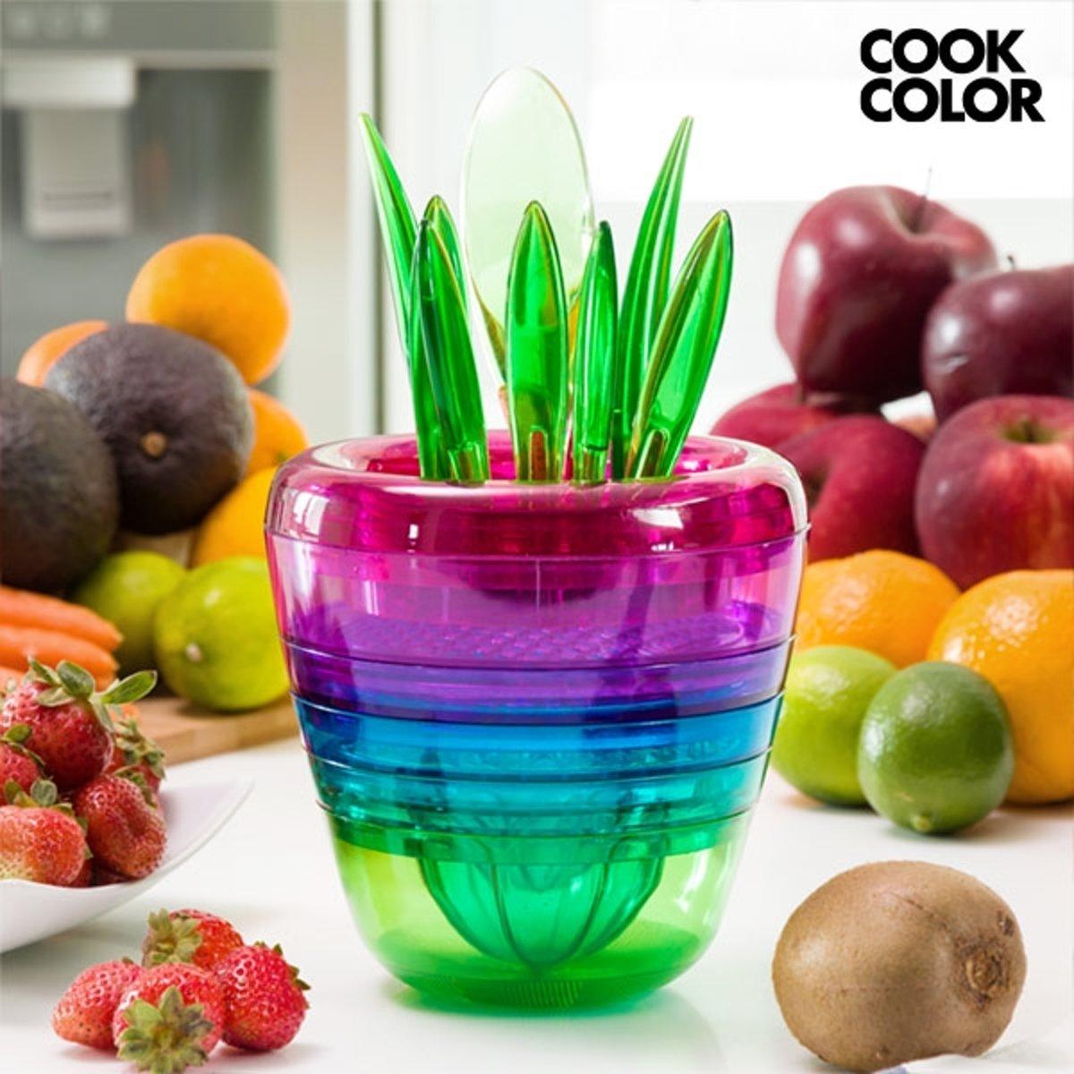 Multi Tool Fruit Cook Color Stapelbaar Keukengerei kopen