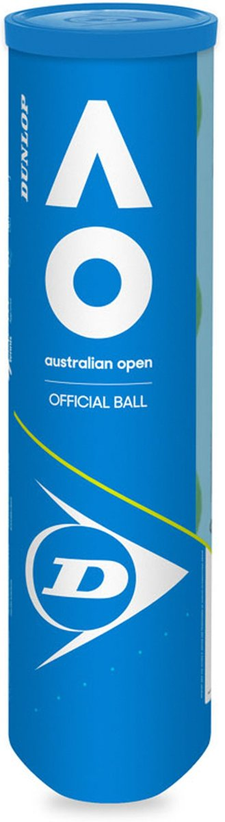Dunlop D Tb Australian Open 4 Pet Tennisballen - Yellow kopen
