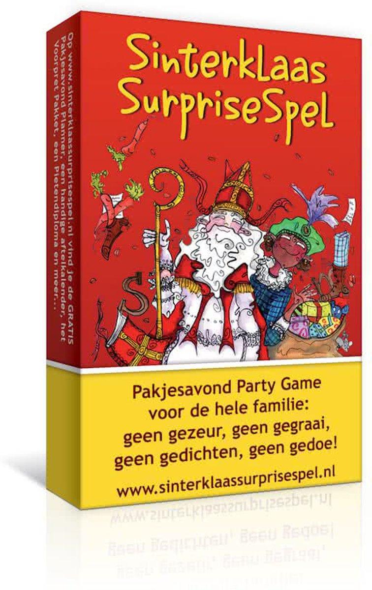 Sinterklaas Surprisespel - familiespel - 3+