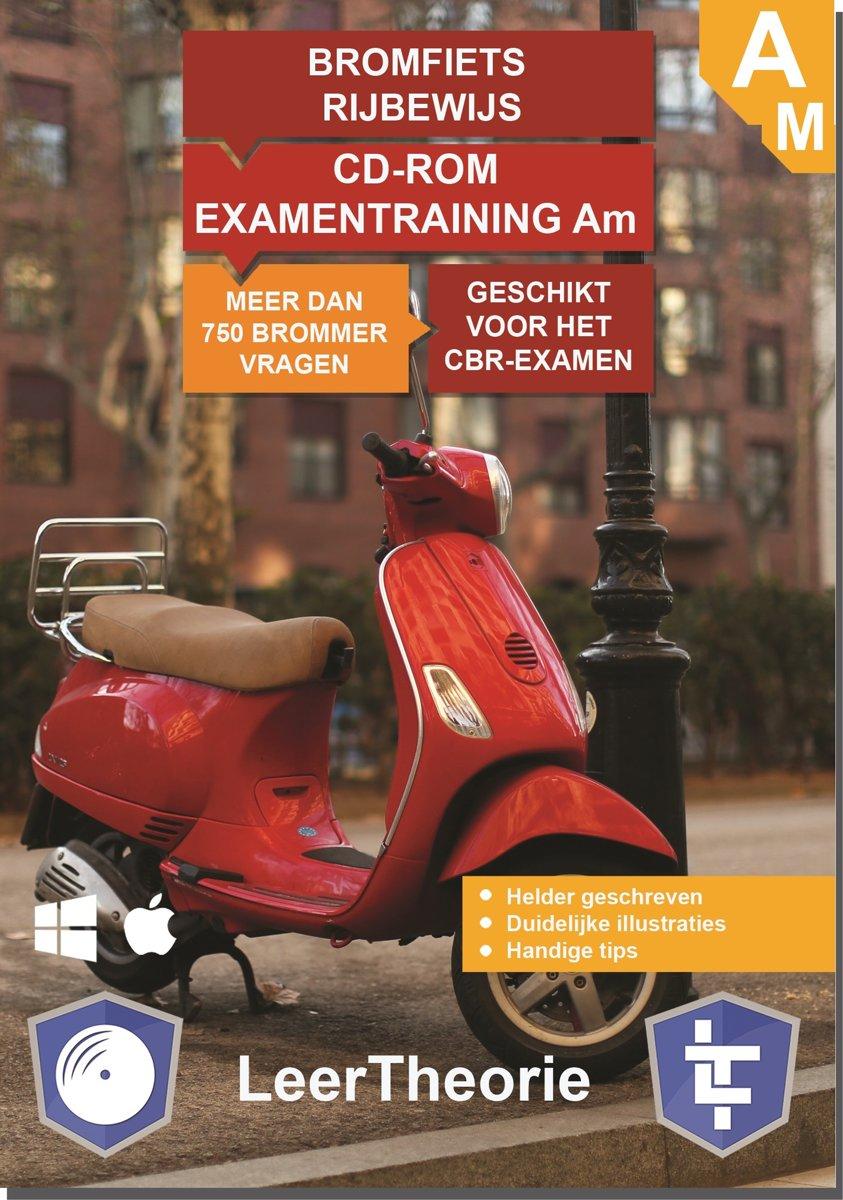 Bromfiets Rijbewijs Am - CD-ROM Bromfiets Examentraining Am - 750 oefenvragen - 15 Theorie Examens - Ontworpen voor het CBR theorie-examen 2019 kopen