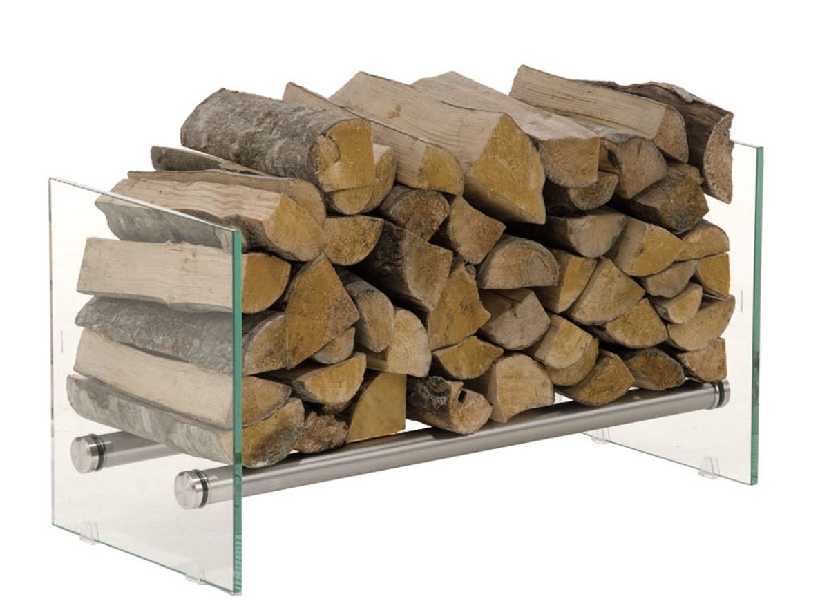 Clp Brandhoutrek Gavin - - helder glas 35 x 75 x 40 cm (DxBxH) kopen