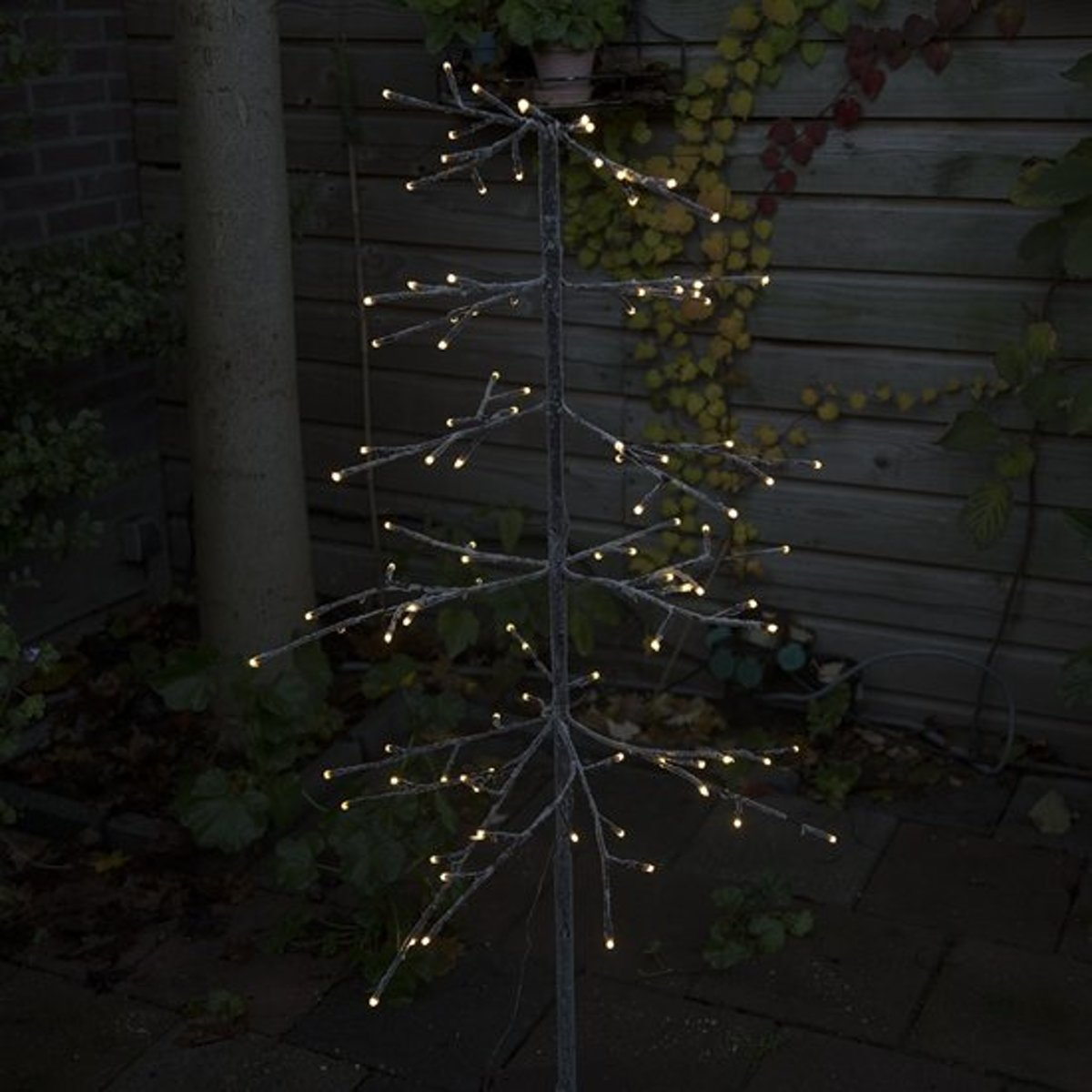 Kerstverlichting dennenboom Snow LED warm wit 1,2 meter kopen