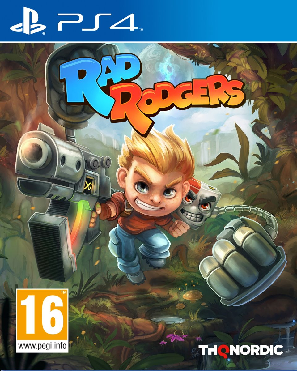 Rad Rodgers PlayStation 4