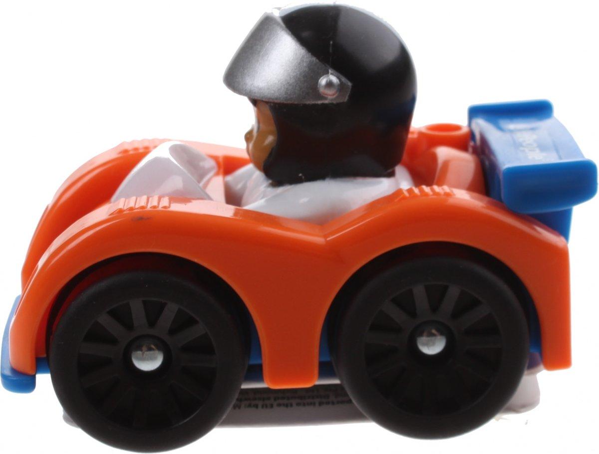Fisher-price Little People Wheelies Auto 6,5 Cm Oranje (y3703)