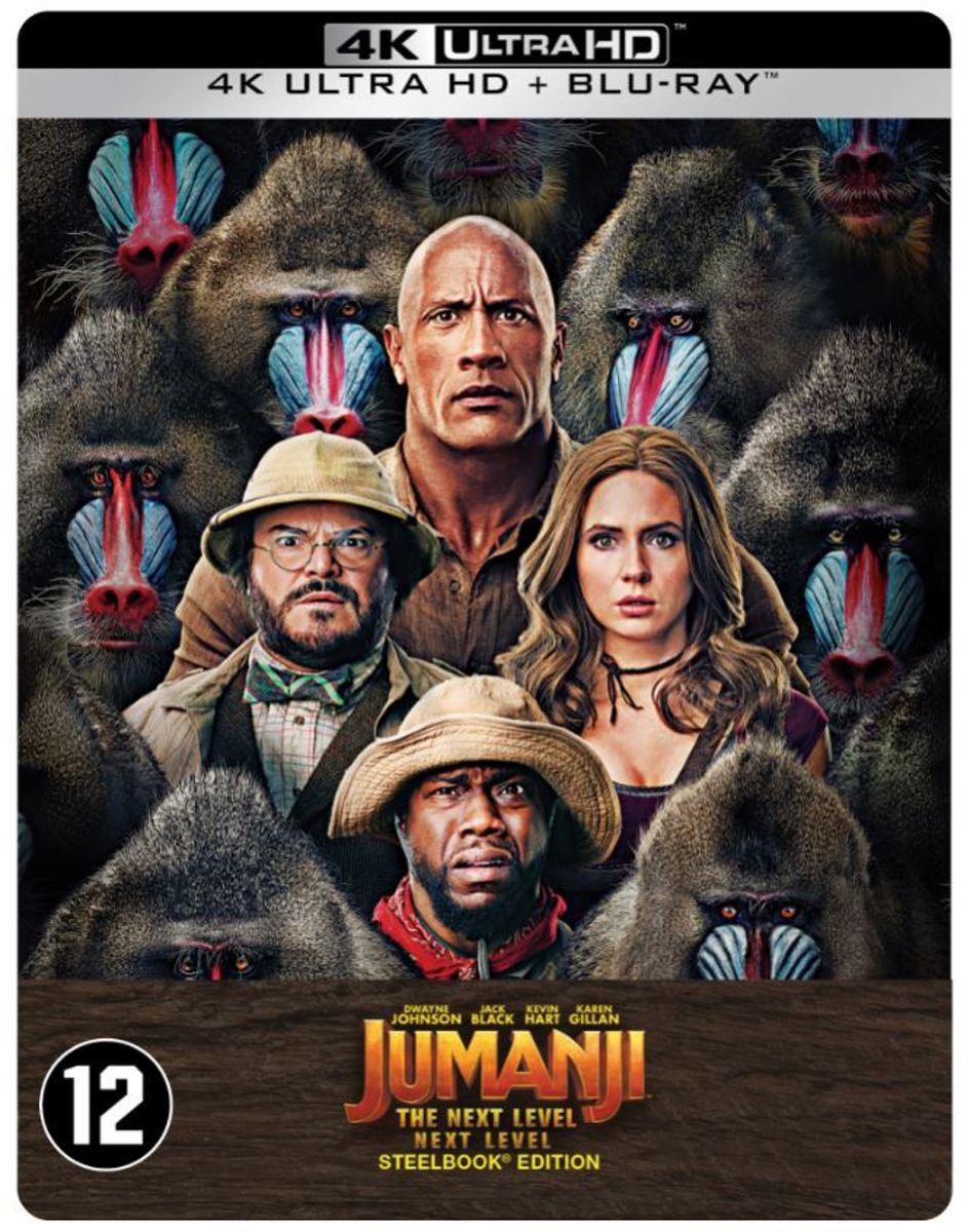 Jumanji : The Next Level (Steelbook) (4K Ultra HD Blu-ray)-