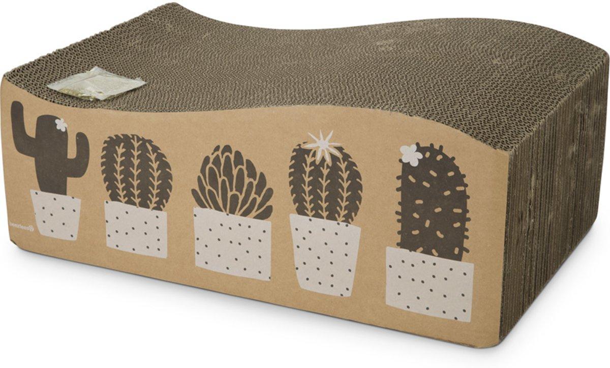 Beeztees Cactus - Kattenspeelgoed - Karton - 50x33x17 cm