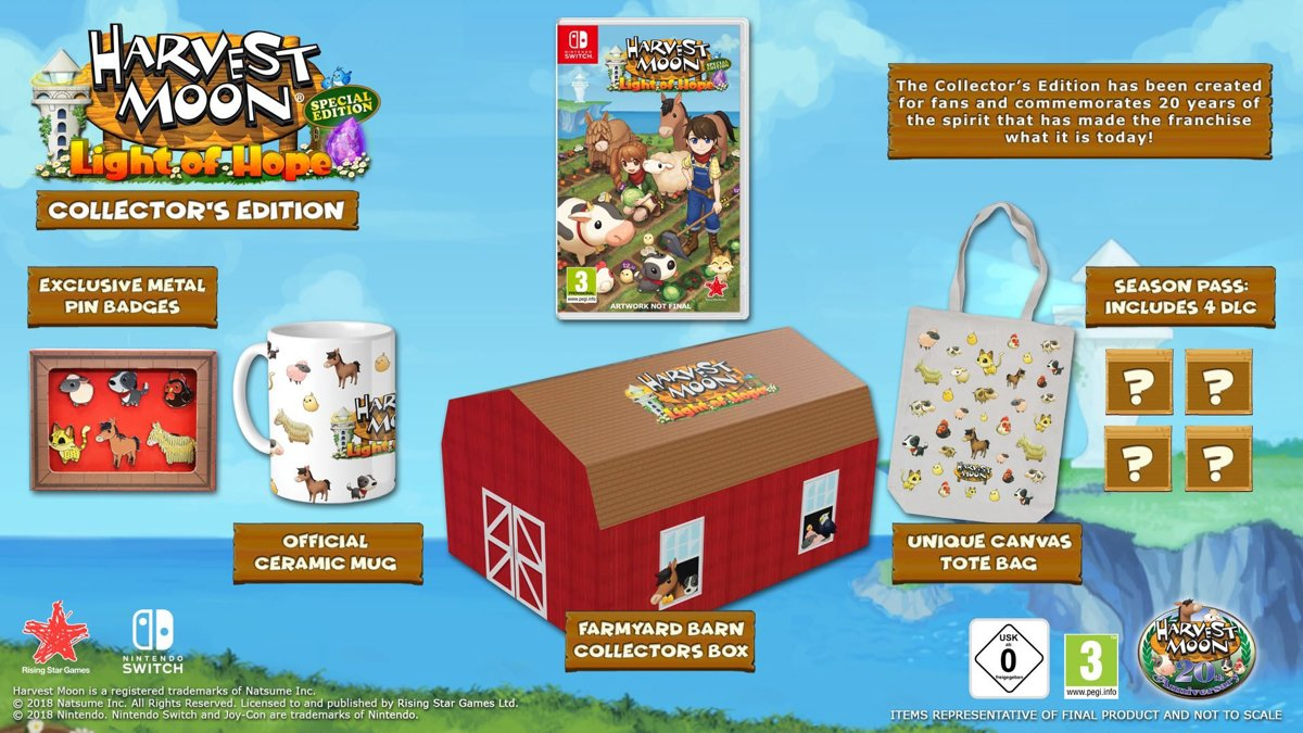 Harvest Moon: Light of Hope Collector's Edition Switch