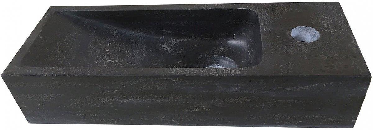 B-stone small hardsteen fontein 38 x 14 cm rechts kopen