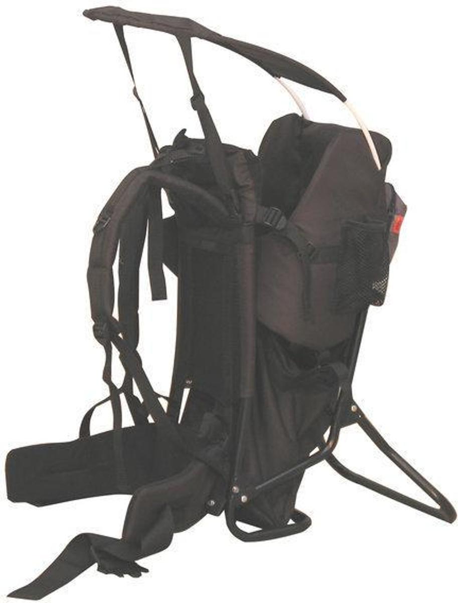 fc2ce92d7b0 bol.com | KEES - Back Pack Rugdrager - Zwart