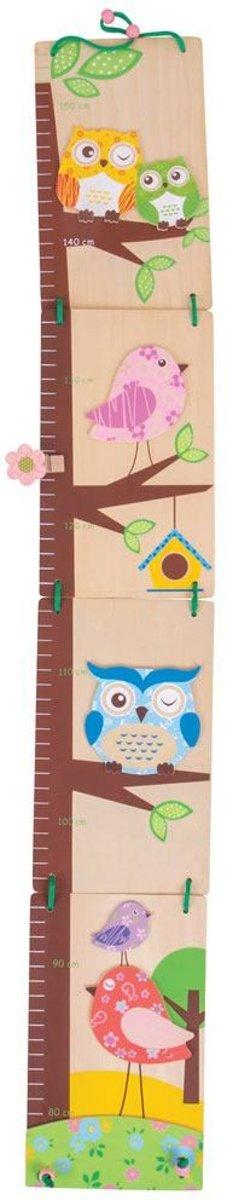 Bigjigs meetlat / groeimeter uil en vogel