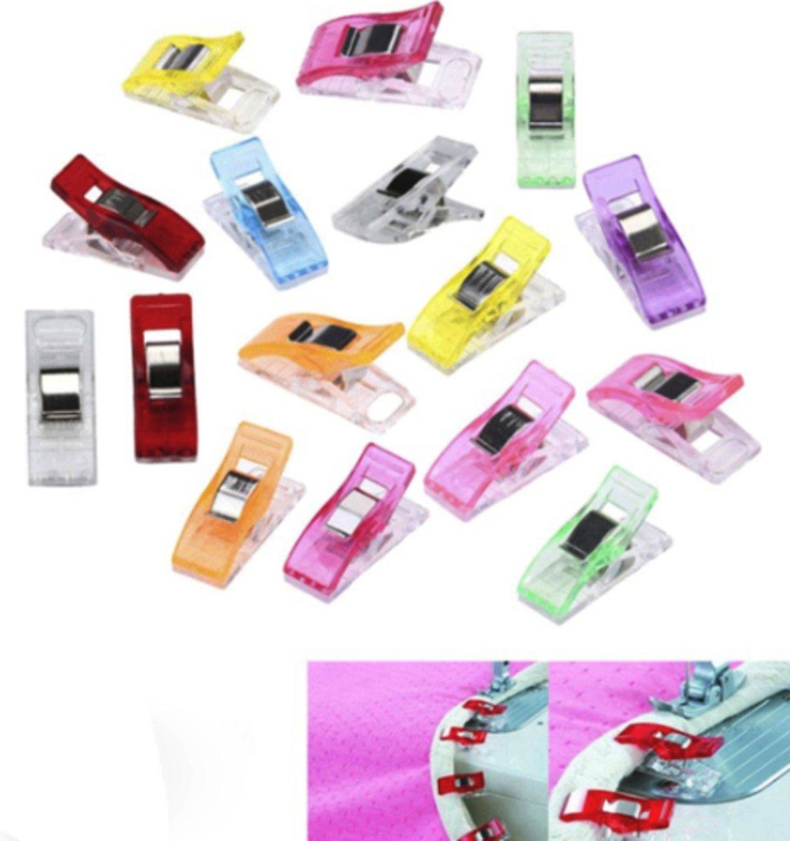 50 stuks - Wonder clips - kleine knijpertjes - vervanging voor spelden - wonderclips kopen