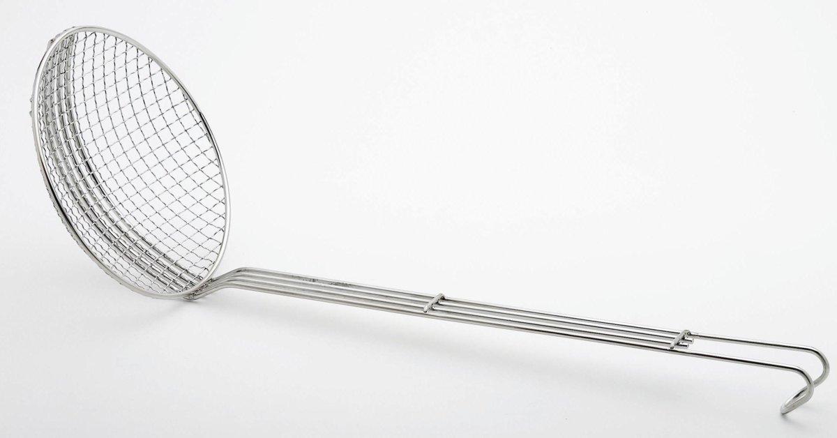 Weis Schuimspaan - Grof - 24 cm - RVS kopen