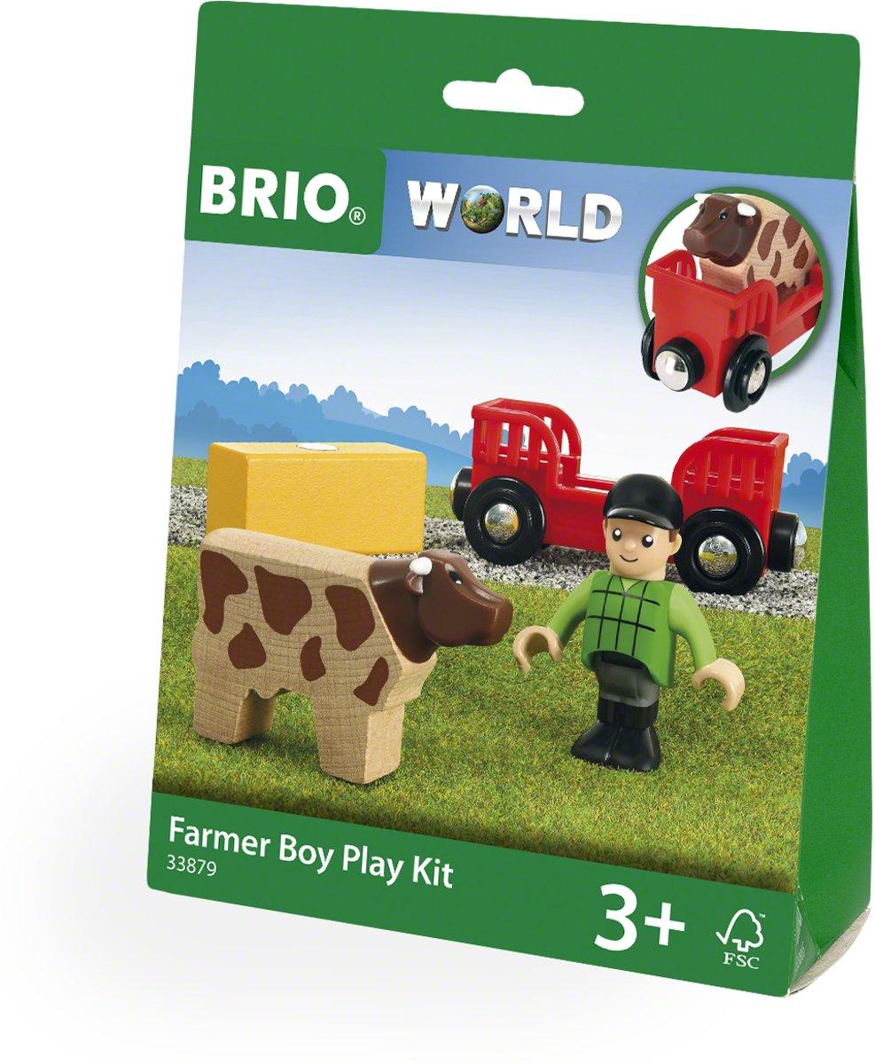 BRIO Boer met koe Play Kit - 33879