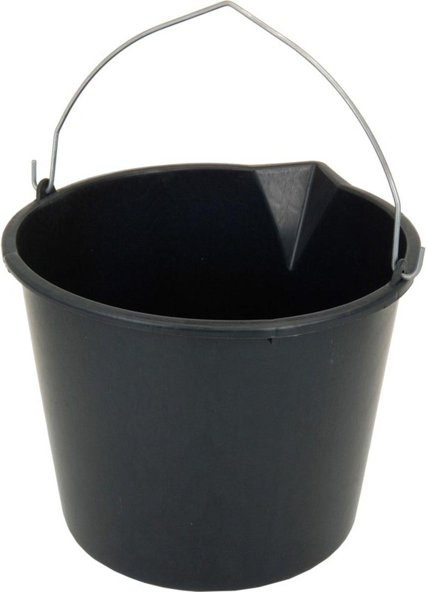Stevige huishoud emmer 12 liter met tuit kopen