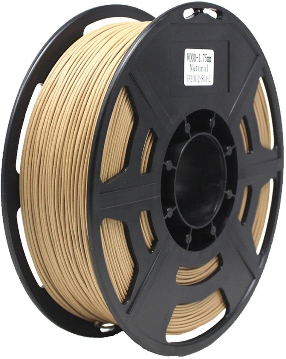 3D PLA Wood filament 1.75mm -1 KG - Hout Naturel kopen