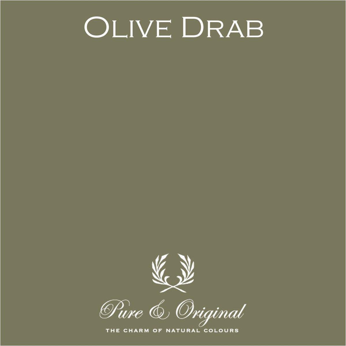 Pure & Original Fresco Kalkverf Olive Drab 5 L