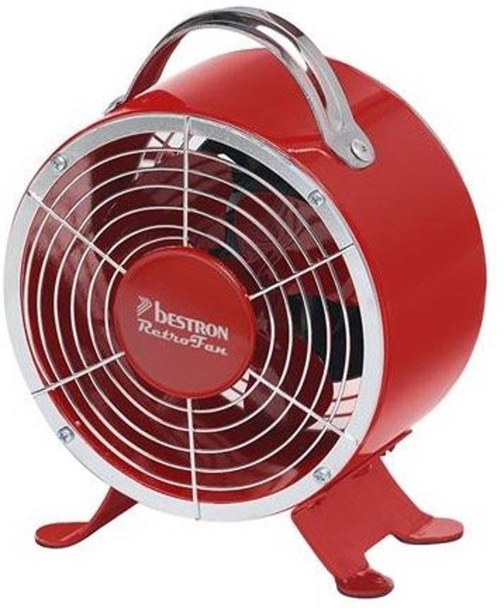 Bestron DFT1605R - Tafelventilator - Rood kopen