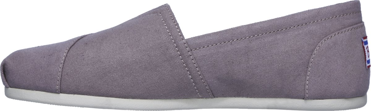 Skechers Bobs Plush Peace & Love Instappers Dames Mauve Maat 42