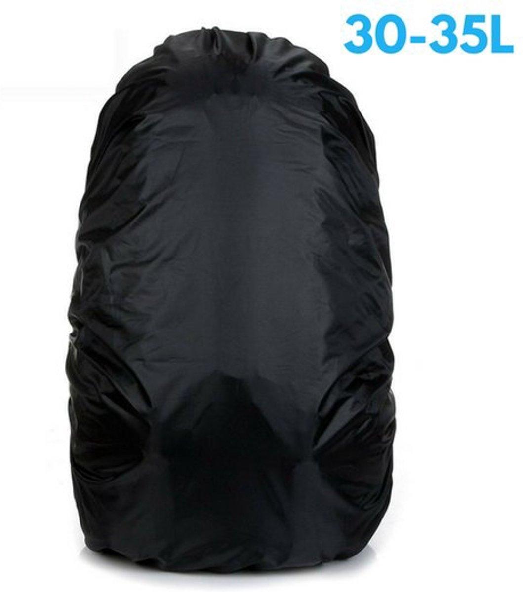 Flightbag Regenhoes Waterdicht voor Backpack Rugzak - 30-35 Liter Regenhoes – Zwart kopen
