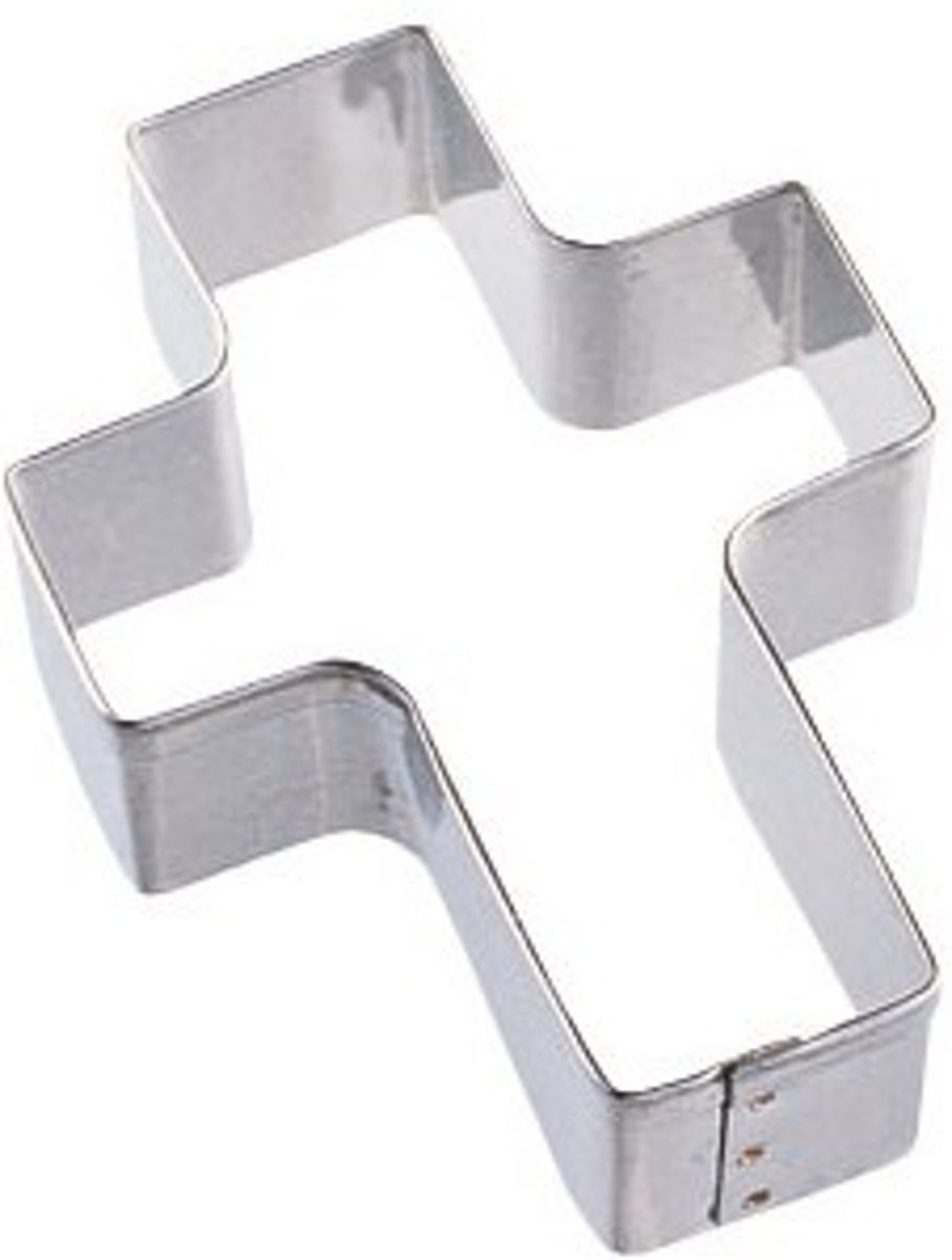 Wilton Metal Cookie Cutter Cross -7.5cm- kopen