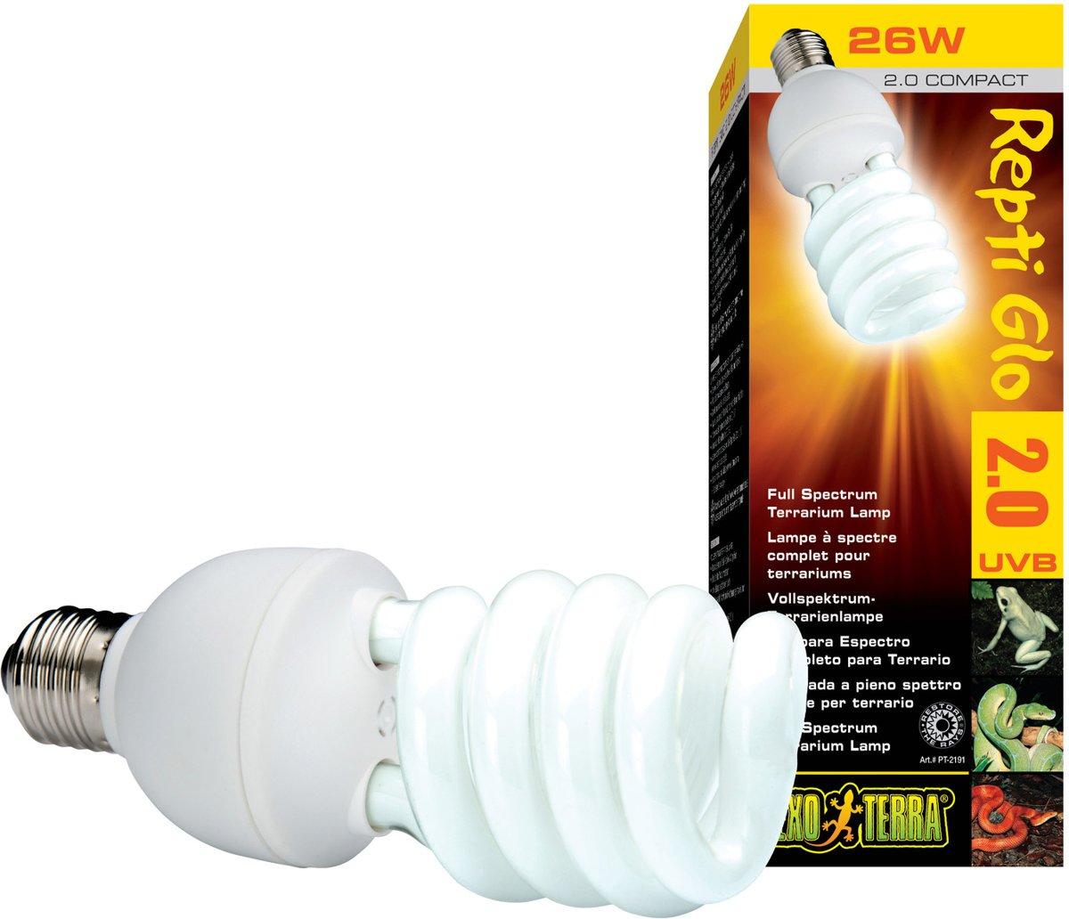 Exo Terra Terrarium verlichting Natural Light 25 watt - Wit - 25w