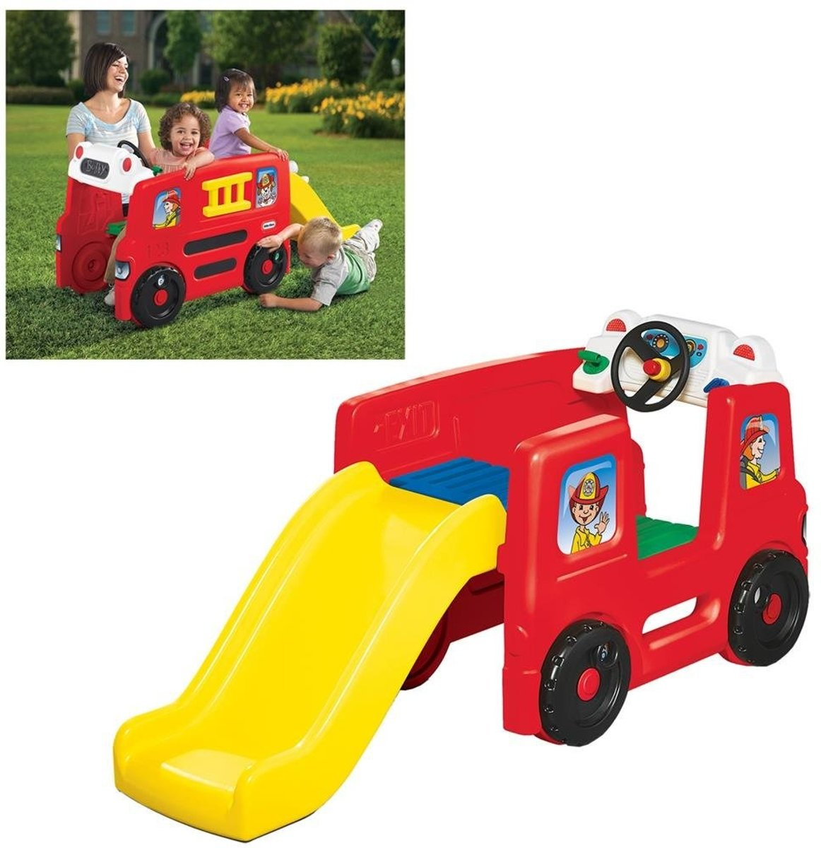 Fire Truck Activity Gym